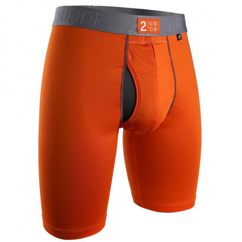 2UNDR Power Shift 2.0 Long Leg Men's Underwear Orange - Koala Logic
