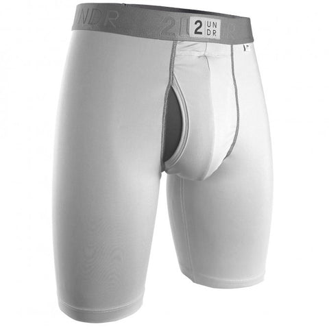 2UNDR Power Shift 2.0 Long Leg Men's Underwear White