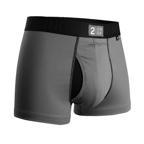 2UNDR Power Shift Trunk 2.0 Men's Underwear Cool Grey