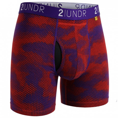 2UNDR Swing Shift Men's Underwear Lava