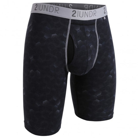 2UNDR Swing Shift Long Leg Men's Underwear Hexadot