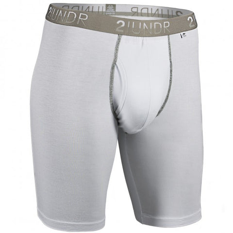 2UNDR Swing Shift Long Leg Men's Underwear White