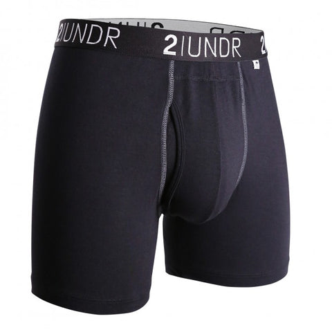 2UNDR Swing Shift Men's Underwear Black/Grey
