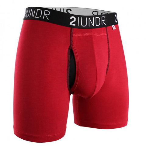 2UNDR Swing Shift Men's Underwear Red/Red