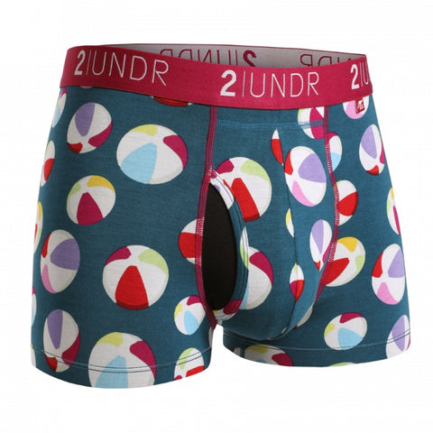 2UNDR Swing Shift Trunk Men's Underwear Beach Balls