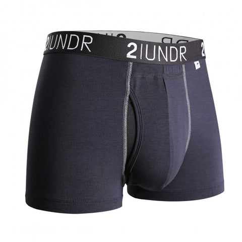 2UNDR Swing Shift Trunk Men's Underwear Black/Grey
