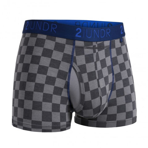 2UNDR Swing Shift Trunk Men's Underwear Check Mate