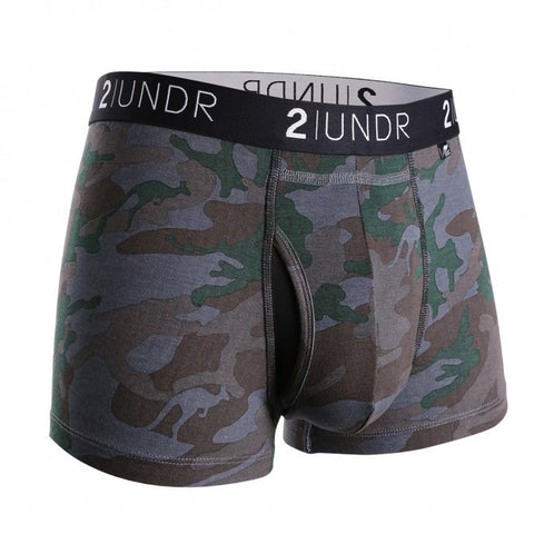 2UNDR Swing Shift Trunk Men's Underwear Dark Camo