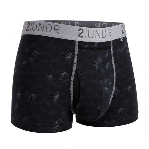 2UNDR Swing Shift Trunk Men's Underwear Hexadot
