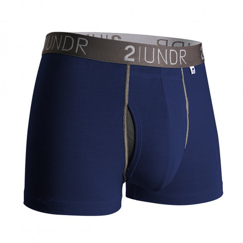 2UNDR Swing Shift Trunk Men's Underwear Navy/Grey
