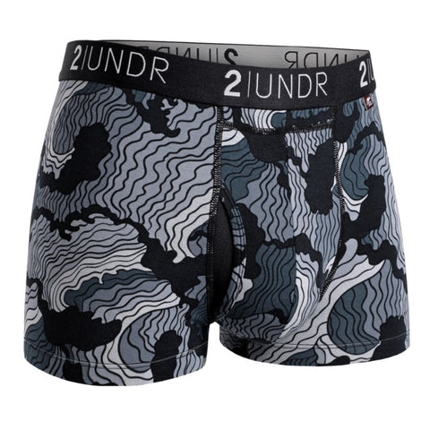 2UNDR Swing Shift Trunk Men's Underwear Tsunami