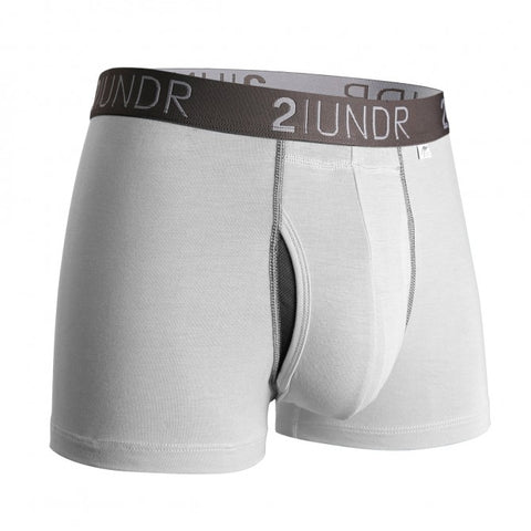 2UNDR Swing Shift Trunk Men's Underwear White/Grey