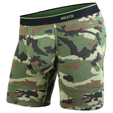 BN3TH Classics Boxer Brief Men's Underwear Camo Green