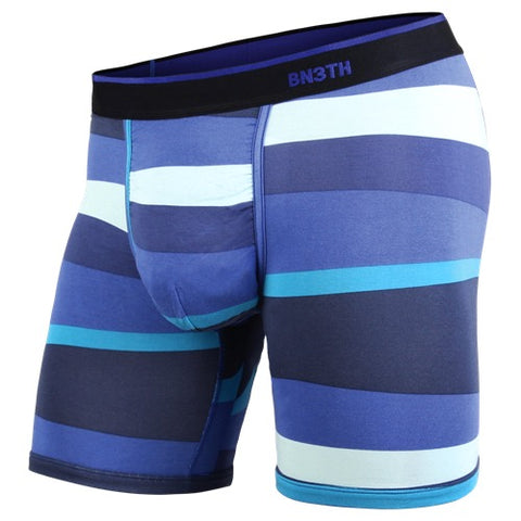 BN3TH Classics Boxer Brief Men's Underwear Funky Stripe Blue
