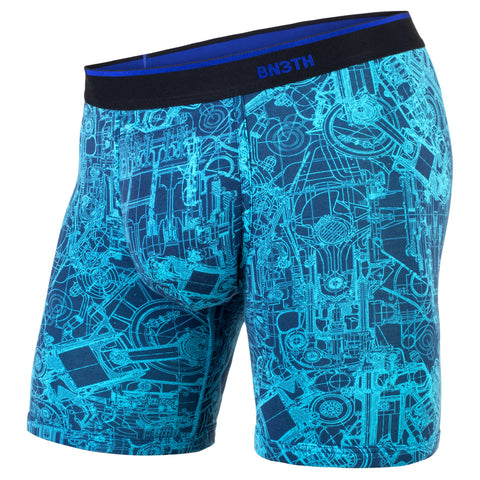BN3TH Classics Boxer Brief Men's Underwear Mechanics Blue