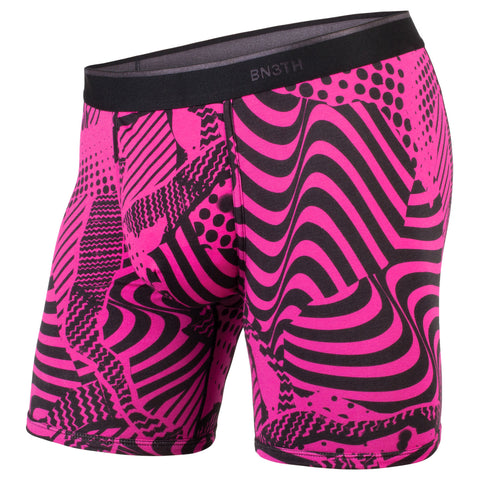 BN3TH Classics Boxer Brief Men's Underwear Mixtape Pink
