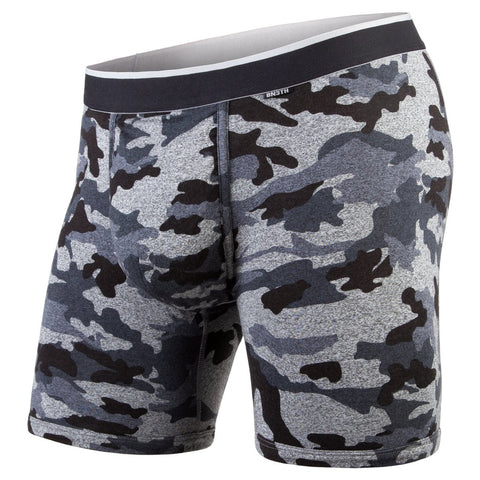 BN3TH Classics Boxer Brief Men's Underwear Heather Camo/Black