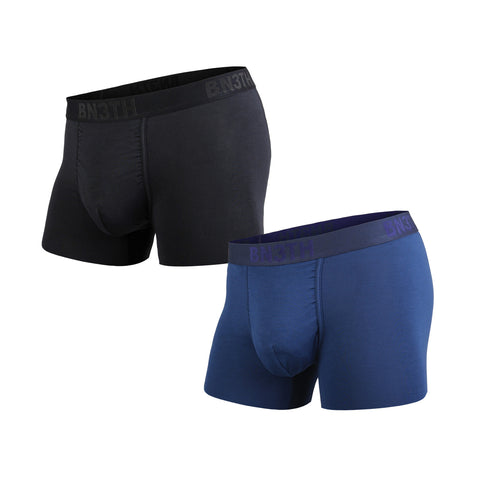 BN3TH Classics Trunk Men's Underwear 2-Pack Black/Navy