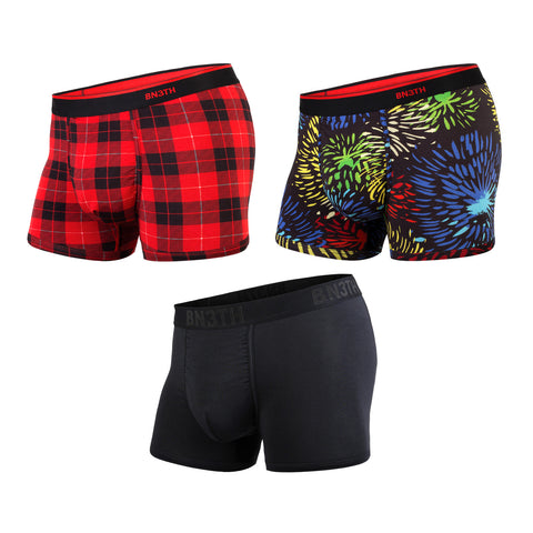 BN3TH Classics Trunk Men's Underwear 3-Pack Holiday