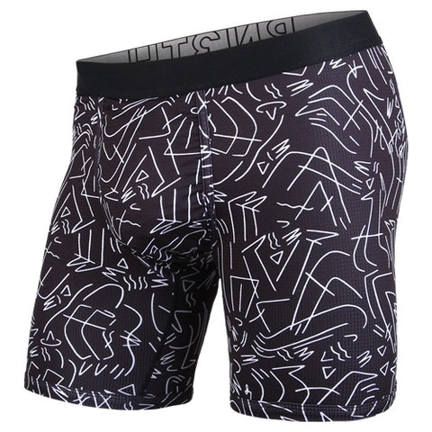 BN3TH Entourage Boxer Brief Men's Underwear LBXBN3TH Black White
