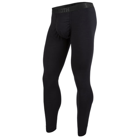 BN3TH Merino Wool Men's Long Underwear Black
