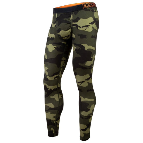 BN3TH Merino Wool Men's Long Underwear Spruce Green Camo