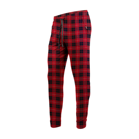 BN3TH PJ Long Unisex Sleepwear Fireside Plaid Red