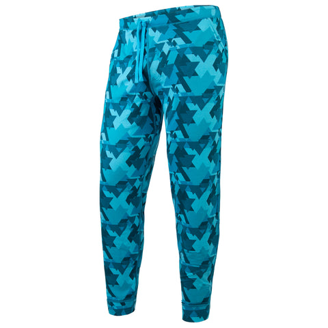 BN3TH PJ Long Unisex Sleepwear Geotrees Teal