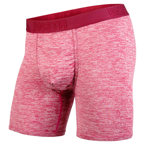 BN3TH Pro 2.0 Boxer Brief Men's Underwear Crimson Heather