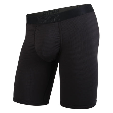 "BN3TH Pro 8"" Boxer Brief Men's Underwear Black/Black"