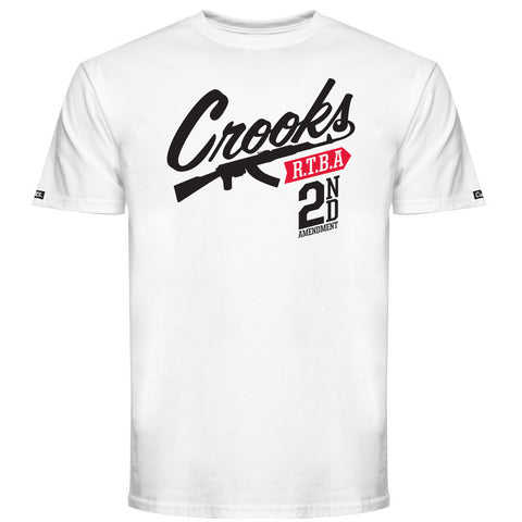 Crooks & Castles 2nd Amendment Men's T-Shirt