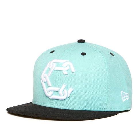 Crooks & Castles New Chain Woven Fitted Cap