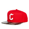 Crooks & Castles Snake Eyes Snapback Cap