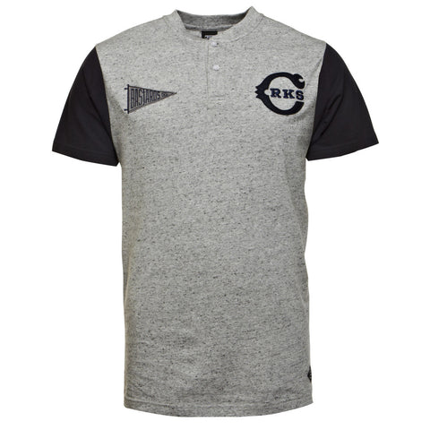 Crooks & Castles Notorious League Men's Henley