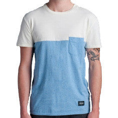 Lifetime Collective Sadie Men's Pocket T-Shirt - Blue Combo / M - Koala Logic - 1