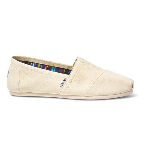 TOMS Natural Canvas Men's Classics Shoes