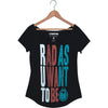 Nomis Be Rad Women's Tee