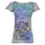 Nomis Diamond Scribble Women's Tee - Heather Grey / XS - Koala Logic - 3