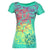 Nomis Diamond Scribble Women's Tee - Mint Julep / XS - Koala Logic - 1