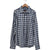 Nomis Fade Plaid Men's LS Shirt - White/Indigo / M - Koala Logic - 3