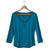 Nomis Nolita Women's Top - Caribbean Teal / S - Koala Logic - 2