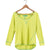 Nomis Nolita Women's Top - Sunny Lime / M - Koala Logic - 1