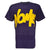 Nomis Tony Men's SS Tee - Dark Purps Hidden Print / L - Koala Logic - 3