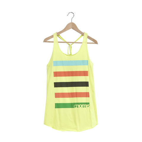 Nomis Vice Women's Tank - Sunny Lime / XS - Koala Logic - 1