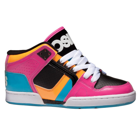 Osiris NYC 83 Mid Women's Shoes Pnk/Cyn/Org