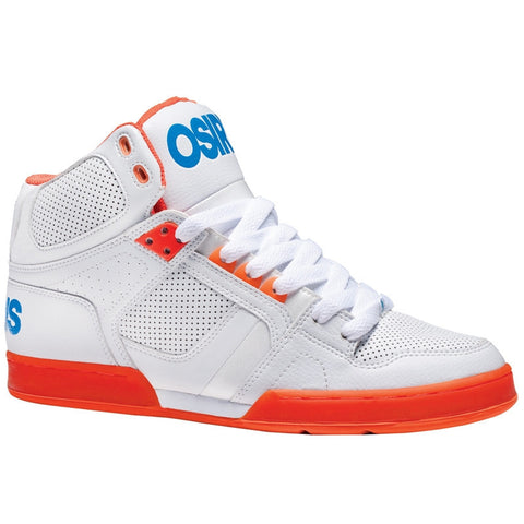 Osiris NYC 83 Men's Shoes Wht/Org/Blu