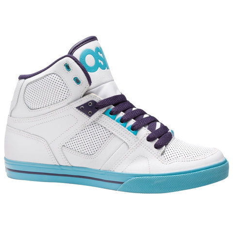Osiris NYC 83 VLC Men's Shoes Wht/Teal/Pur -  - Koala Logic