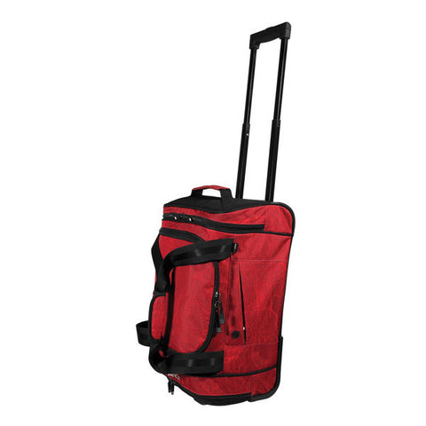 Projekt Co-Pilot Rolling Duffel Bag - Red Topo - Koala Logic - 3