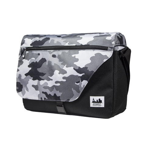 Projekt Workshop Messenger Bag - Urban Camo/Black - Koala Logic - 1