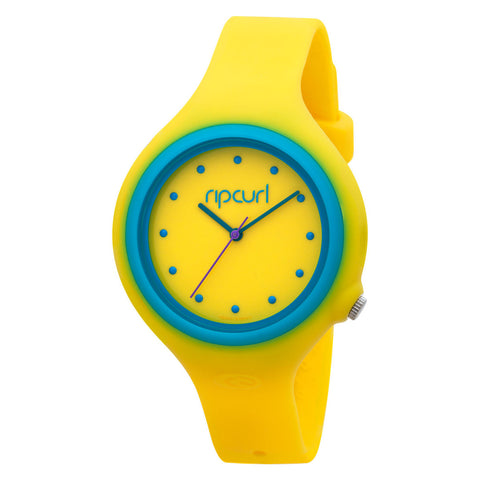 Rip Curl Aurora Women's Watch - Yellow/Blue - Koala Logic - 1